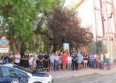 Puerto Lumbreras se suma al minuto de silencio por las víctimas del atentado de Barcelona