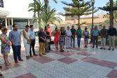 San Pedro del Pinatar muestra su solidaridad con las vítimas de los atentados de Barcelona y Cambrils