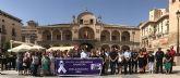 El Ayuntamiento de Lorca repulsa la violencia de género con un minuto de silencio en memoria de la mujer lorquina asesinada en Totana