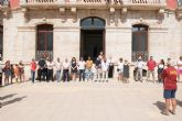 Minuto de silencio en memoria de las v�ctimas de los atentados de Cataluña