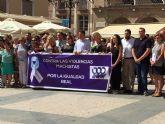 Concentración en Lorca para condenar el último a sesinato por violencia machista