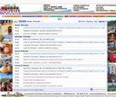 La Agenda Totana de la web municipal corporativa es la sección de media más utilizada por los internautas usuarios de esta aplicación