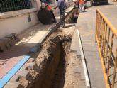 El Ayuntamiento de Los Alcázares acuerda con la empresa Aqualia la mejora de la red de saneamiento del entorno de la Base Militar