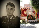 Alcantarilla tributa un sentido homenaje al Cabo Salvador Candel Soto, único militar nacido en nuestra población fallecido en accidente paracaidista