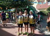 Participación del Club Atletismo de Totana en el 25 aniversario de la carrera popular de Nonduermas