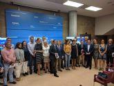 El alcalde de Totana asiste al acto de presentación de las ayudas del Plan de Vivienda 2018/21 en la Consejería de Fomento e Infraestructuras