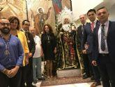 La Pro Cofradía de la Santísima Soledad del Mar Menor bendice la imagen de su Virgen obra del sevillano Alejandro Ugarte