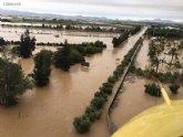 El Consorcio de Compensación de Seguros ha sido informado, sólo en la Región de Murcia, de 13.800 siniestros causados por las inundaciones, estimando el coste total en 82 millones de euros