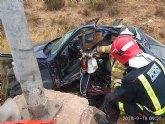 Accidente de tráfico con atrapados en Javalí Nuevo