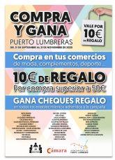 Ayuntamiento de Puerto Lumbreras y Cámara de Comercio impulsan el comercio local a través de la campaña 'Compra y Gana'
