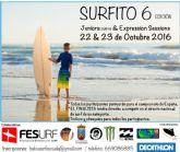 Más de treinta surfistas compiten el próximo fin de semana en la playa de Bahía