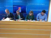 El Ayuntamiento de Molina de Segura, AVALAM y BMN-CajaMurcia firman un acuerdo para la financiación de proyectos de emprendimiento a través de la Línea Emprende