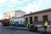 El Ayuntamiento realiza mejoras en más de medio centenar de calles y caminos en Puerto Lumbreras