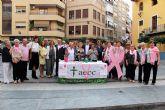 Alcantarilla conmemora en sus calles el Día Mundial contra el Cáncer de Mama, 'Tu Lucha es mi Lucha'