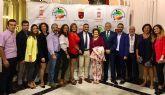 El jugador de bádminton torreño Antonio Brao, premiado en la 'II Gala del Deporte' de la UFDRM