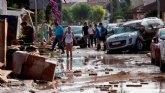 Las cofradías torreñas, con los afectados por las inundaciones de la gota fría en la Región de Murcia