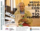 La Sala Municipal de Exposiciones Los Postigos acoge una exposición retrospectiva sobre Manuel Sánchez Baena, MAN, creador del Tío Pencho