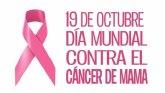 Día Mundial Contra el Cáncer de Mama. Martes 19 de octubre de 2021