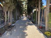 El Ayuntamiento de Puerto Lumbreras amplía el cementerio municipal de San Damián con un nuevo pabellón funerario con 108 nichos