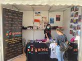 D´Genes expone la labor que desarrolla y sus servicios en la Feria 'Inclusiones' celebrada en Cartagena