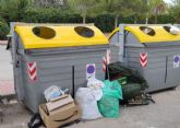 PP: El Gobierno PSOE - Podemos de Eliseo García elimina contenedores de recogida de residuos en La Alcayna