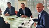 El director general de Simplificación Administrativa se reúne con el alcalde de Las Torres de Cotillas