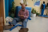 Los mayores de Puerto de Mazarrón celebran el xxiv aniversario de su Centro de Día con una exposición dedicada al mar