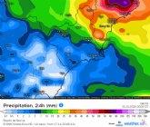 Este episodio lluvioso acabará el lunes con fuertes lluvias