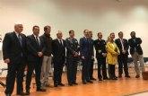 El RCR Santiago de la Ribera otorgo el título de Socio de Honor a la Armada Española