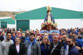 L�pez Miras participa en la romer�a de la Virgen del Milagro de Mazarr�n