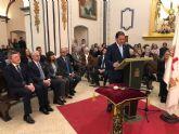 El alcalde Gaspar Miras renueva el voto de la Villa de Mazarrón a la Purísima Concepción