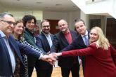 La alcaldesa de Puerto Lumbreras se reúne con alcaldes de la comarca para defender intereses económicos y empresariales comunes