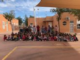 El colegio Hernández Ardieta ya cuenta con un toldo para evitar las alta temperaturas
