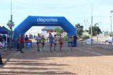 El circuito de cross municipal acogió el Campeonato regional por relevos mixtos
