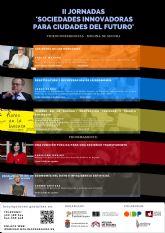 II Jornadas online Sociedades innovadoras para ciudades del futuro en Molina de Segura