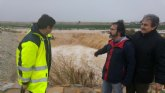 Una veintena de carreteras de toda la Regi�n se encuentran cortadas por fuertes lluvias