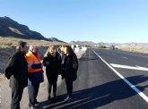 Fomento invierte más de 300.000 euros en mejorar las dos carreteras que unen Mazarrón con Cartagena y con Bolnuevo