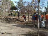 Los alumnos del programa Mixto de Empleo y Formación de la ADLE inician su aprendizaje en Jardinería y Construcción