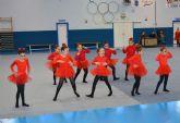 Gran exhibición navideña de gimnasia en Las Torres de Cotillas