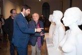 López Miras: 'La exposición de Antonio López convierte a la Región en foco de interés cultural a nivel nacional e internacional'