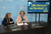 El programa 'Me divierto en Navidad' propone talleres de diferentes temáticas para los niños pinatarenses