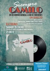 Presentación oficial del show 'Siempre Camilo' un recorrido musical lleno de emociones y en directo.