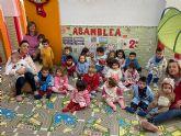 El 'Pijama Day' hace del colegio 'Susarte' la segunda casa para sus escolares