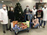El Hospital de Molina se suma a la campaña de recogida de alimentos de Cáritas