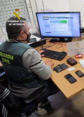 La Guardia Civil detiene a cuatro personas por hurtos en viviendas de San Javier