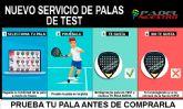 Padel Nuestro presenta su nuevo servicio de palas de test