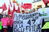 Piden a la alcaldesa socialista que no les impida manifestarse aplicando la Ley Mordaza