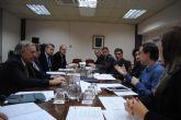 La Delegación del Gobierno y la Consejería de Presidencia coordinan actuaciones ante la persistente situación de lluvias y nevadas