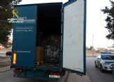 La Guardia Civil detecta a dos inmigrantes irregulares ocultos en un camión procedente de Tánger (Marruecos)
