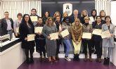 15 personas logran en Las Torres de Cotillas el certificado de profesionalidad de limpieza de edificios y locales